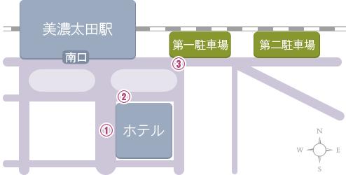 無料駐車場地図